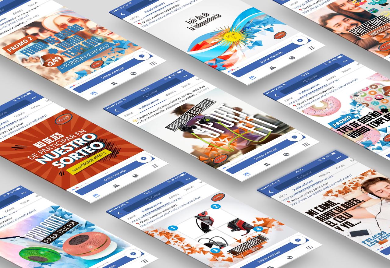 Agencia de Marketing Digital Agencia Digital, Seven Electronics · Redes Sociales, slider2-5