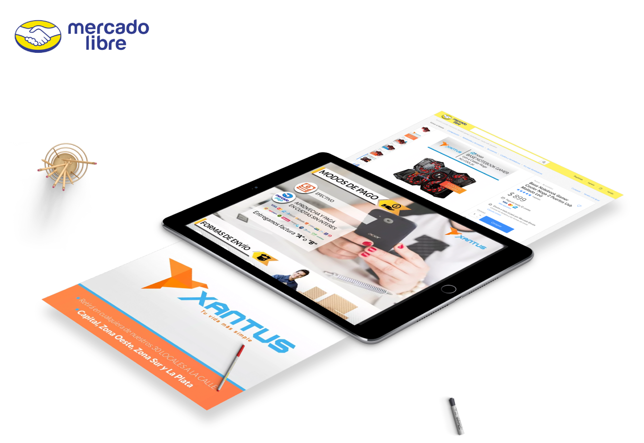 Marketing Digital Agencia Digital, Xantus · Publicaciones MercadoLibre, slider3-9
