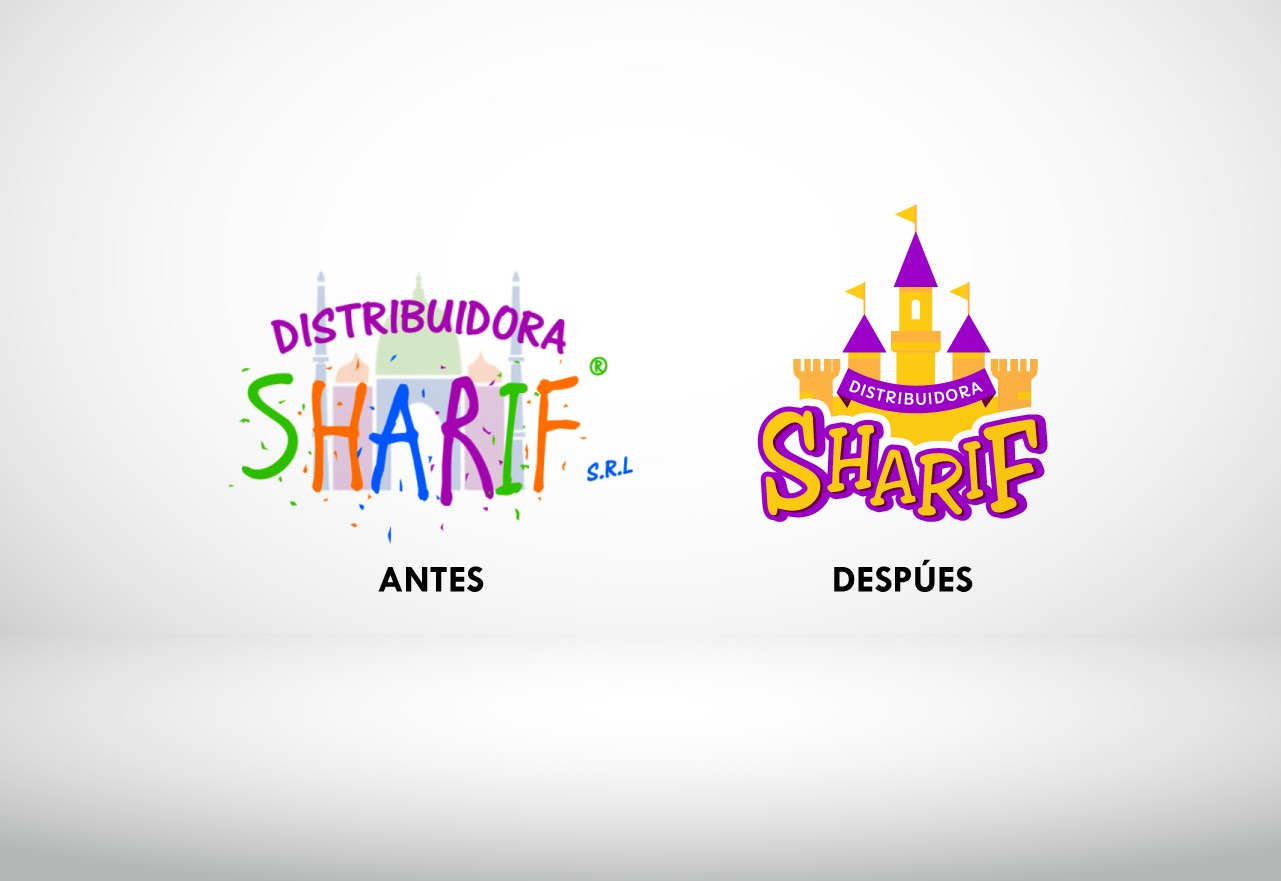 Agencia de Marketing Digital Agencia Digital, Distribuidora Sharif · Desarrollo de Marca, sharif_slider_4