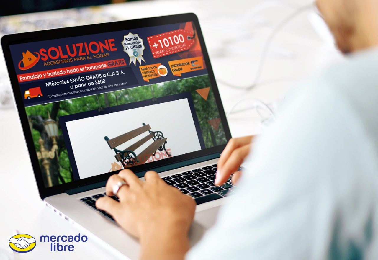 Marketing Digital Agencia Digital, Soluzione · Publicaciones MercadoLibre, slider1-6