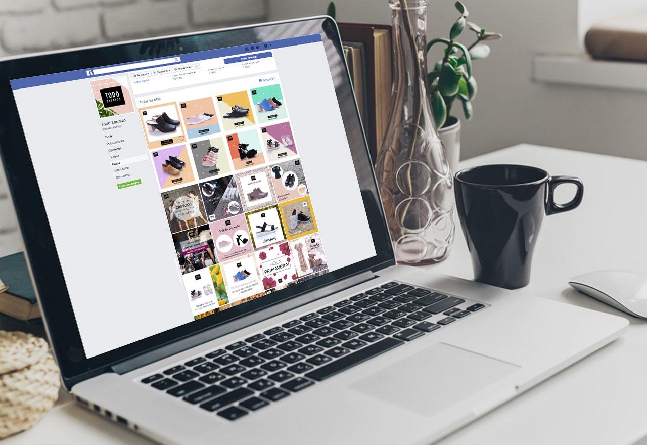 Marketing Digital Agencia Digital, Todo Zapatos · Redes Sociales, slider1-2