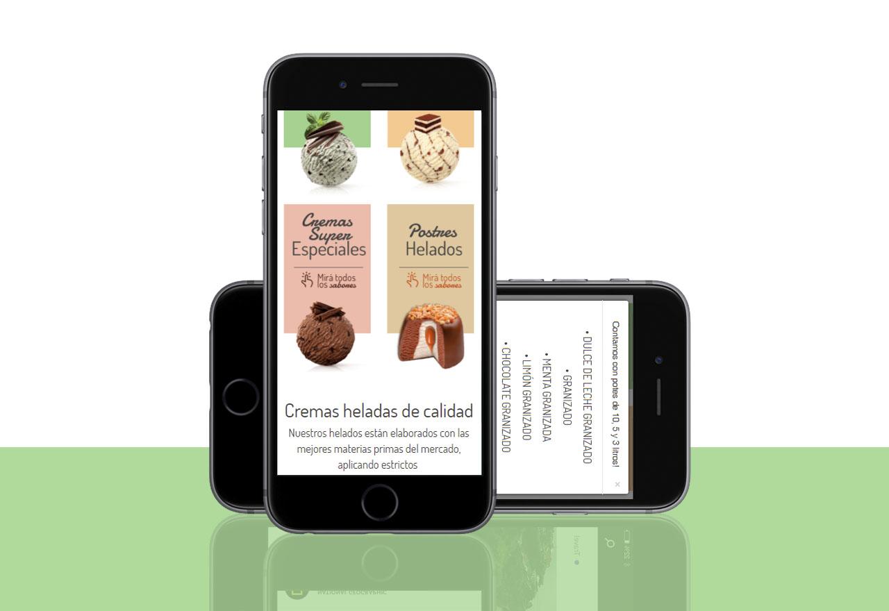 Agencia de Marketing Digital, Helados Veggam · Desarrollo de Landing Page, slider2-3