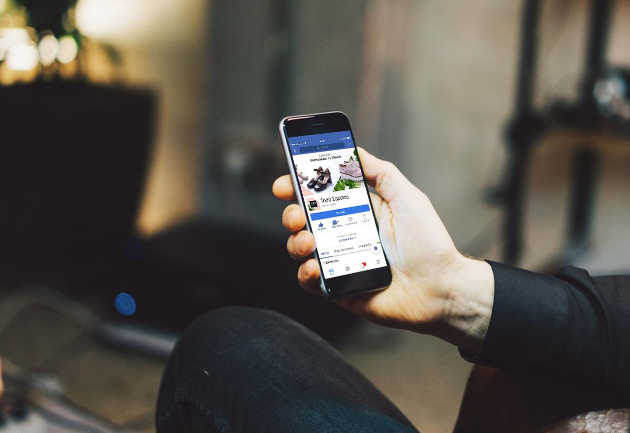Marketing Digital Agencia Digital, Todo Zapatos · Redes Sociales, slider3-2