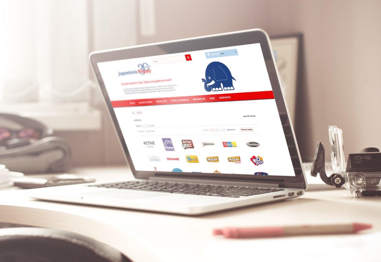 Agencia de Marketing Digital, Juguetería Ploppy · Tienda Online, slider1-5