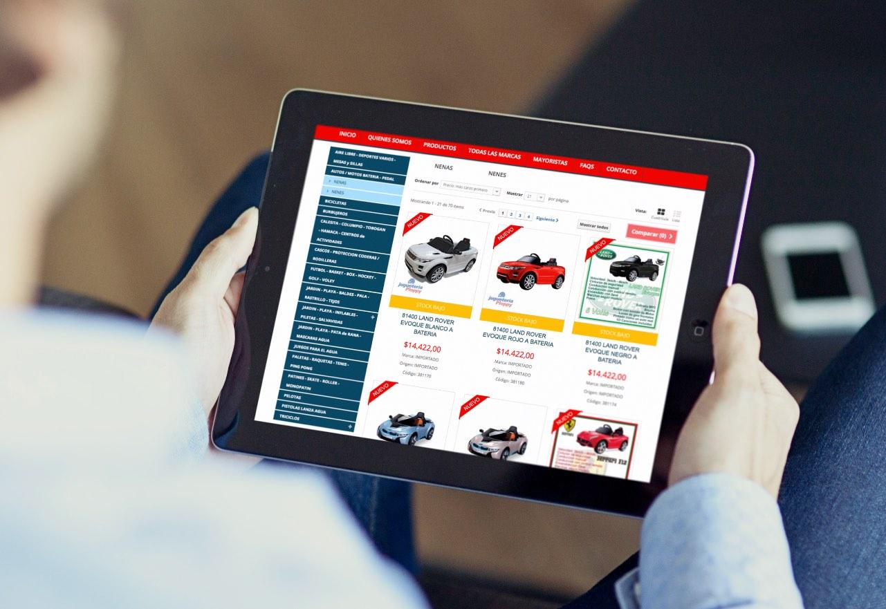 Marketing Digital Agencia Digital, Juguetería Ploppy · Tienda Online, slider2-5