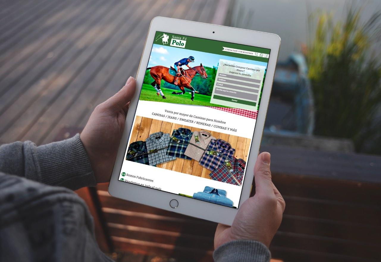 Marketing Digital Agencia Digital, Santa Fé Polo · Desarrollo de Landing Page, slider2-6