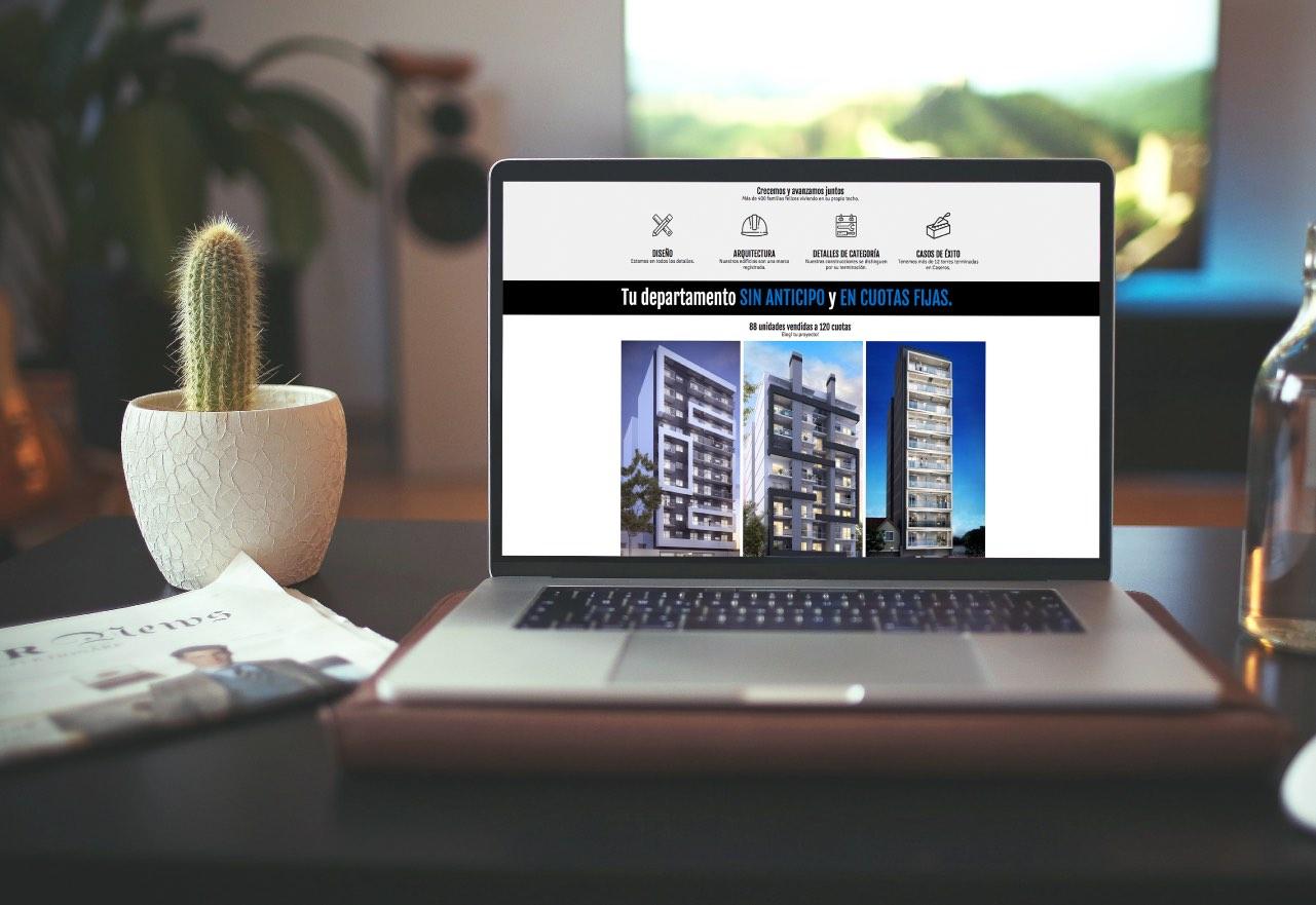 Marketing Digital Agencia Digital, Proyectos Urbania · Desarrollo de Landing Page, slider2