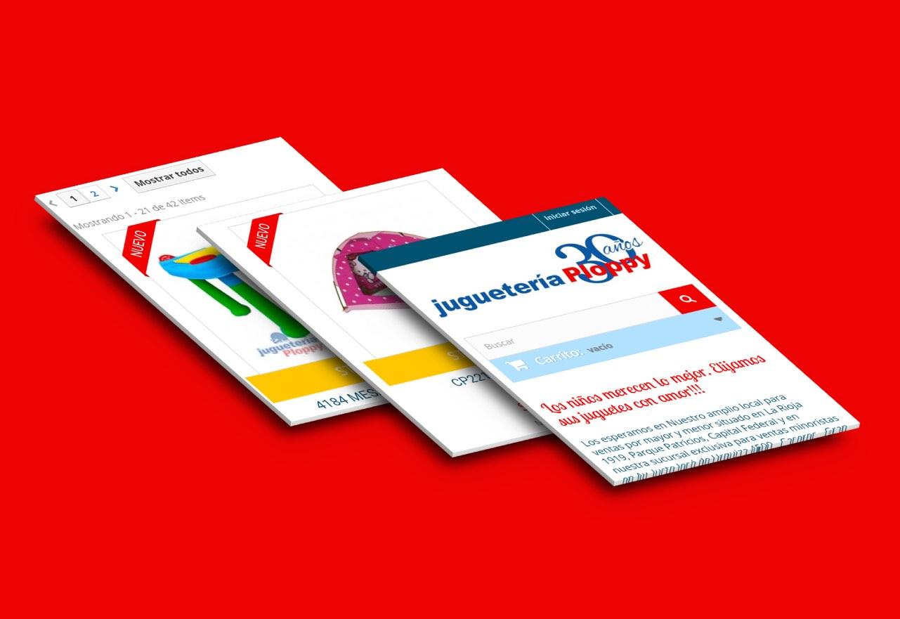 Agencia de Marketing Digital, Juguetería Ploppy · Tienda Online, slider3-4