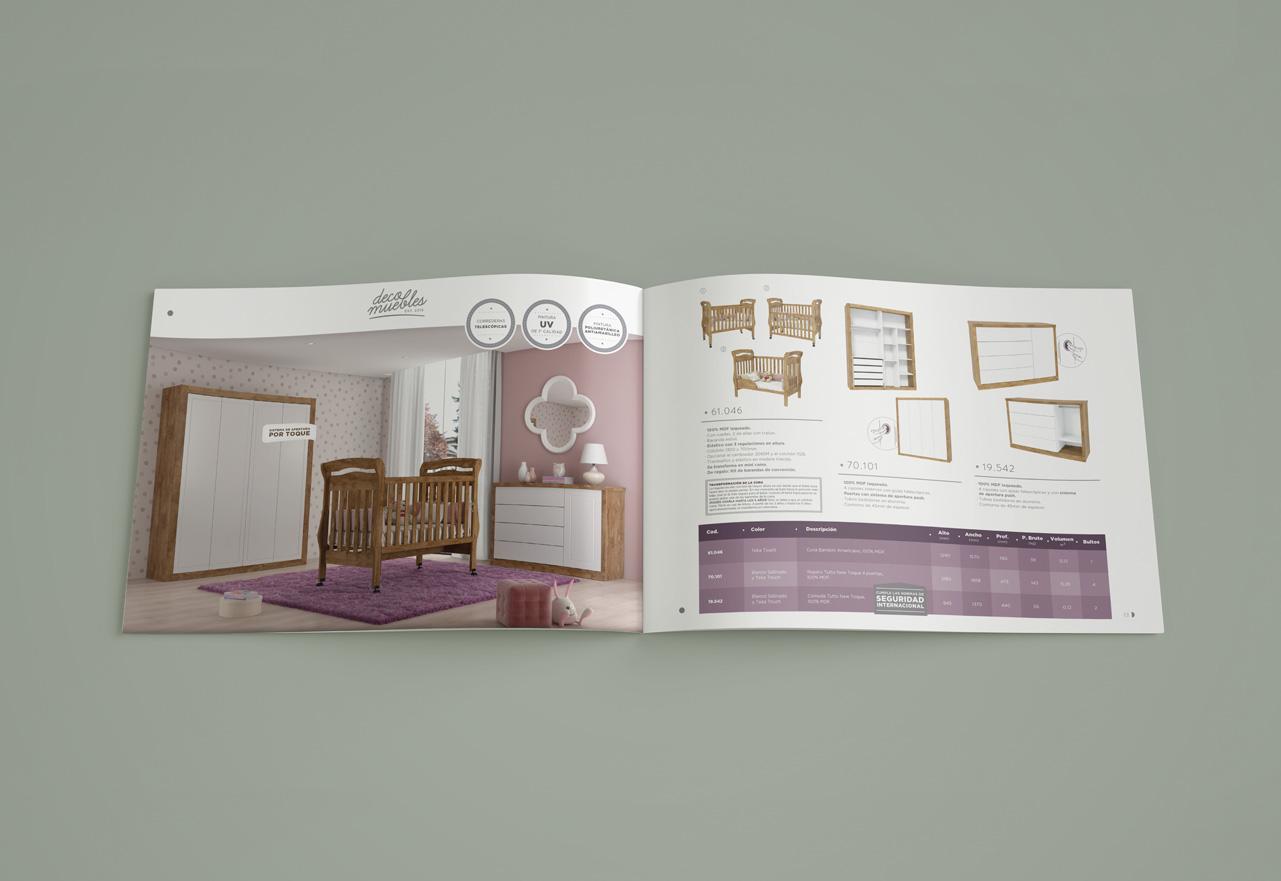 Marketing Digital Agencia Digital, DecoMuebles · Diseño de Catálogo de Productos, slide3_elcorral