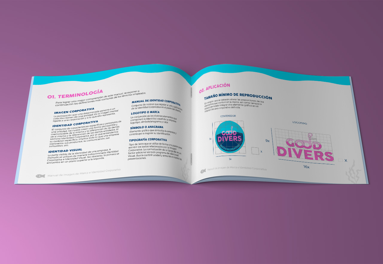 Marketing Digital Agencia Digital, Good Divers · Desarrollo de Marca, slider1