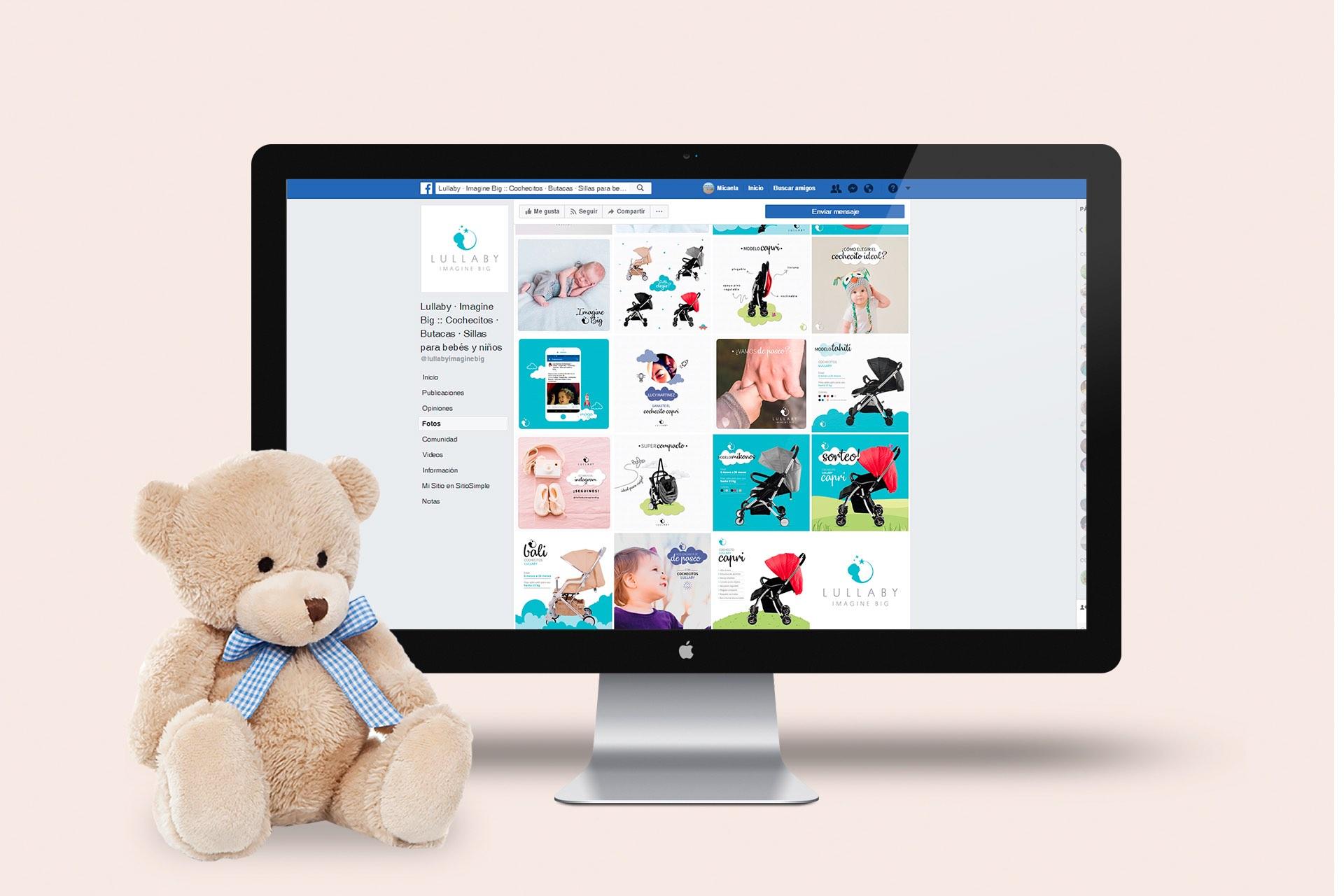 Agencia de Marketing Digital, Lullaby Imagine Big · Redes Sociales, 2