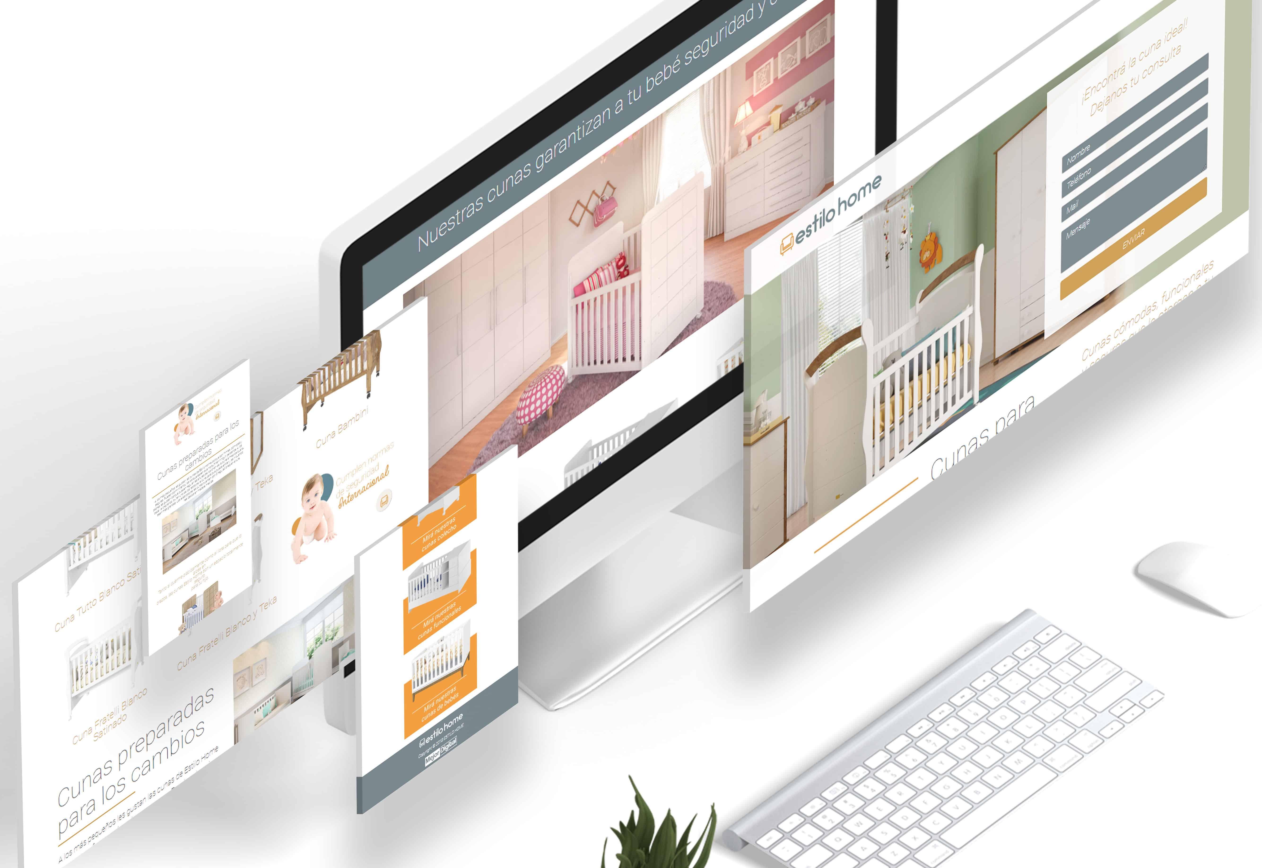 Marketing Digital Agencia Digital, Estilo Home · Desarrollo de Landing Page, slider1-2