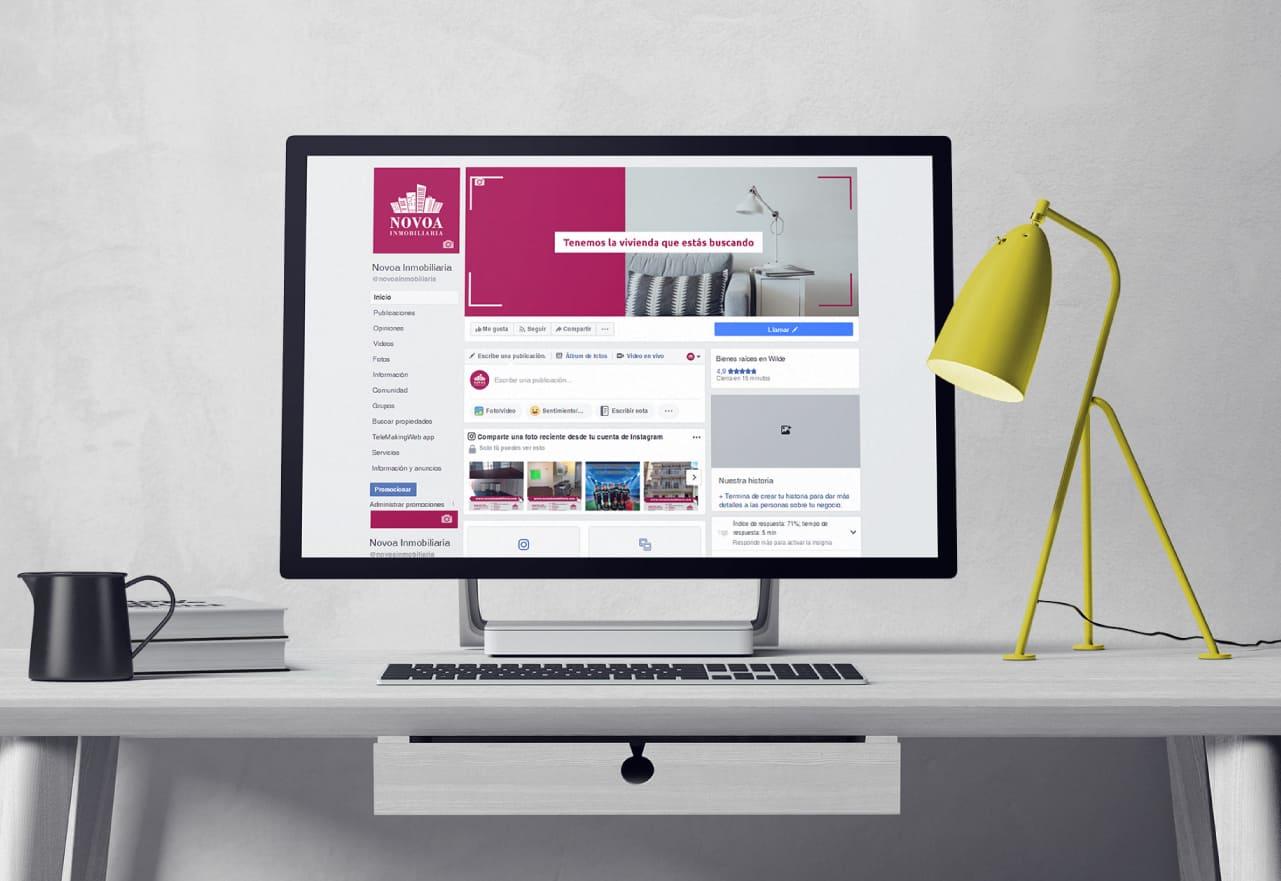Marketing Digital Agencia Digital, Novoa Inmobiliaria · Redes Sociales, novoa_inmobiliaria_community_management_slider_1