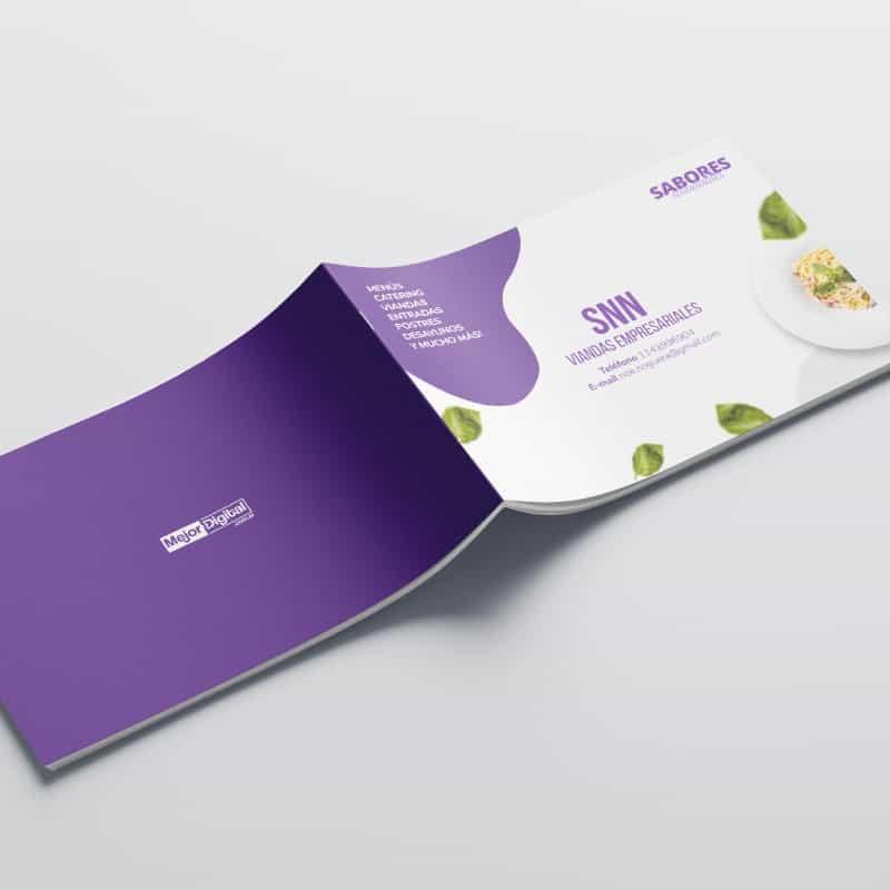 Marketing Digital Agencia Digital, Portfolio, snn_viandas_empresariales_brochure_1