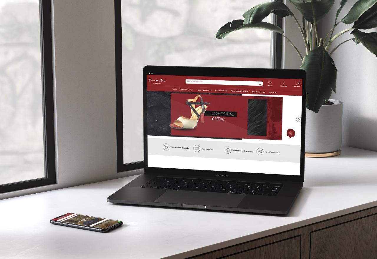 Marketing Digital Agencia Digital, Buenos Aires Tango Shoes · Tiendanube eCommerce, bsas-tango-shoes-tiendanube-ecommerce-2