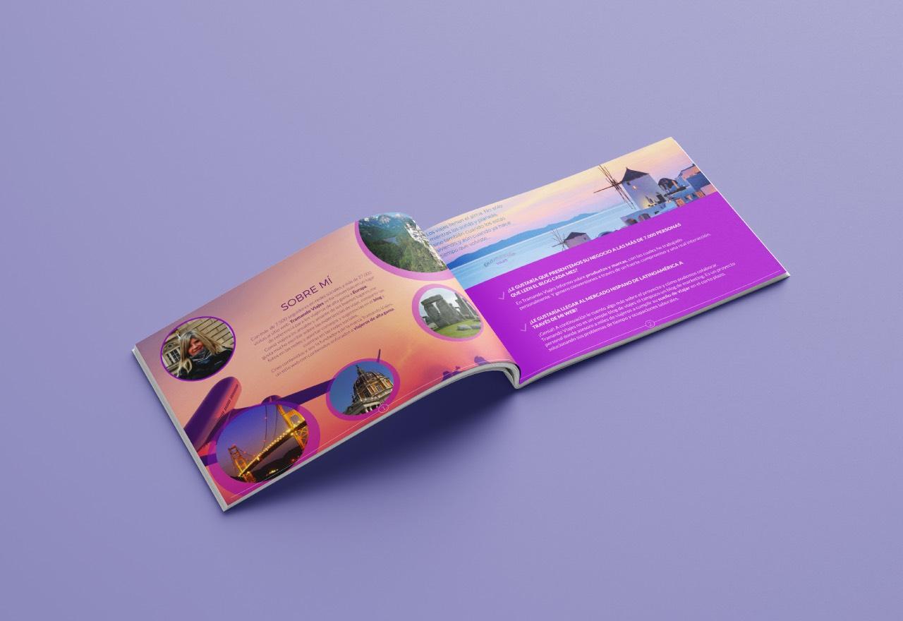 Marketing Digital Agencia Digital, Tramando Viajes · Brochure Institucional, tramando-viajes-brochure-2