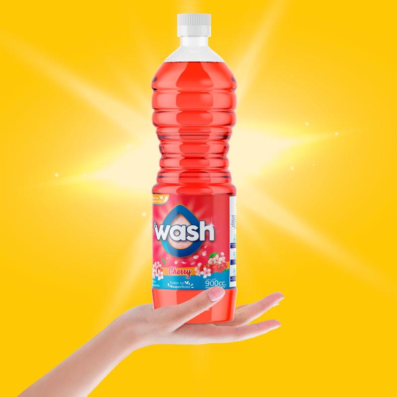 Wash · Branding + Packaging + Marketing Digital